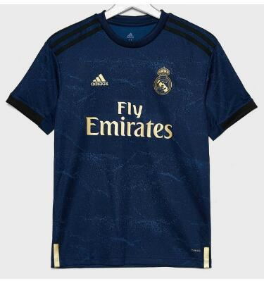 camisetas segunda del Real Madrid 2019-2020