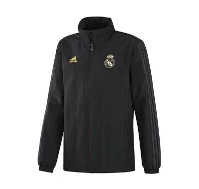 Cortavientos Real Madrid 2019-2020 Negro