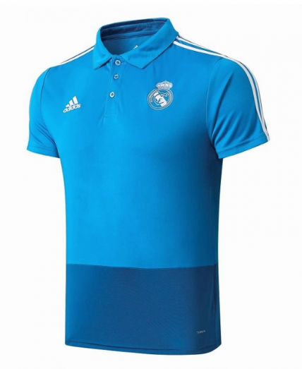 camisas Polo Real Madrid 2019-2020 azules