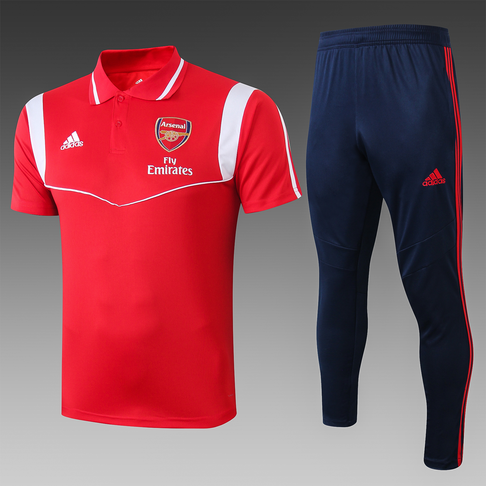 camiseta 1920 Polo Arsenal Rojo