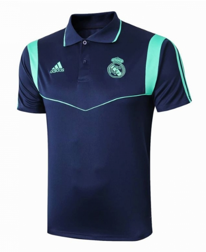 camiseta Polo Real Madrid 2019-2020 Azul