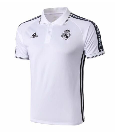 camiseta Polo 2019-2020 del Real Madrid Blanco