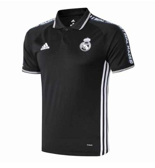 camiseta Polo 2019-2020 del Real Madrid negro