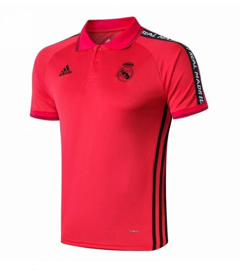 camiseta Polo 2019-2020 del Real Madrid rojo