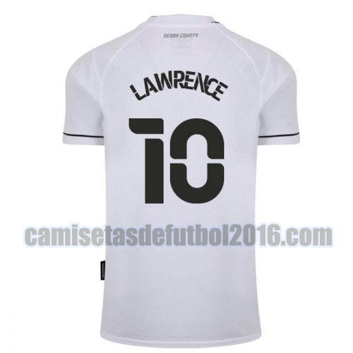 camiseta priemra derby county 2020-2021 lawrence 10