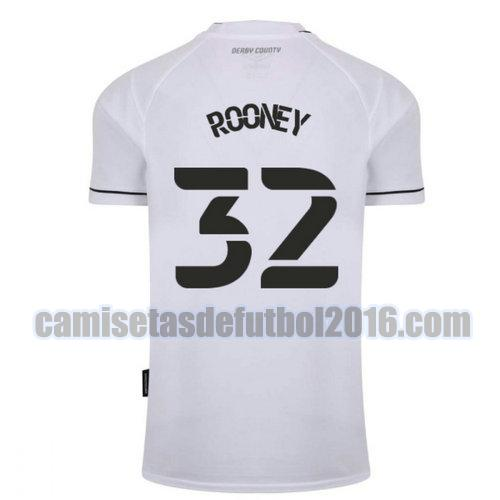 camiseta priemra derby county 2020-2021 rooney 32