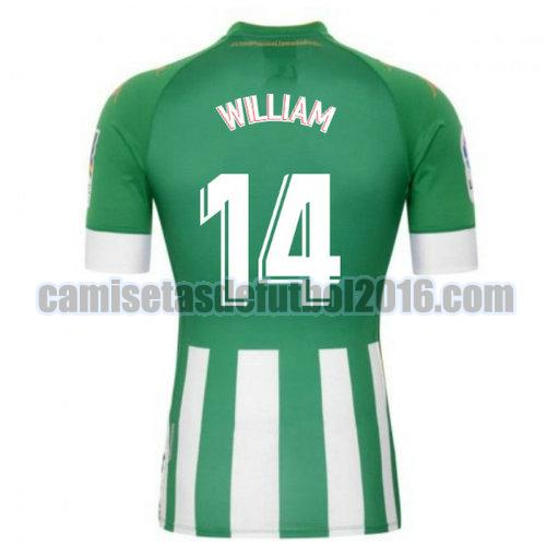 camiseta priemra real betis 2020-2021 william 14