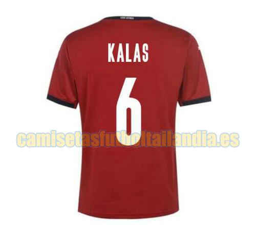 camiseta prima czech republic 2020-2021 kalas 6