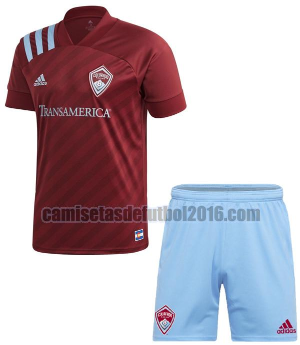 camiseta primera colorado rapids 2020-2021 niño