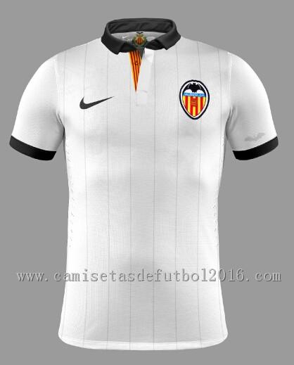 Club > Valencia > camiseta primera equipacion del Valencia 2015
