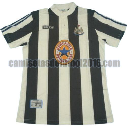 camiseta primera equipacion newcastle united 1995-1997