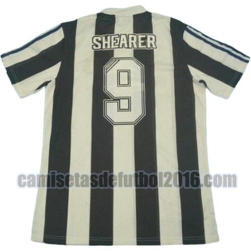 camiseta primera equipacion newcastle united 1995-1997 shearer 9