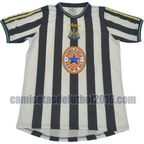 camiseta primera equipacion newcastle united 1997-1999