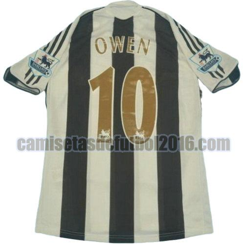 camiseta primera equipacion newcastle united 2005-2006 owen 10