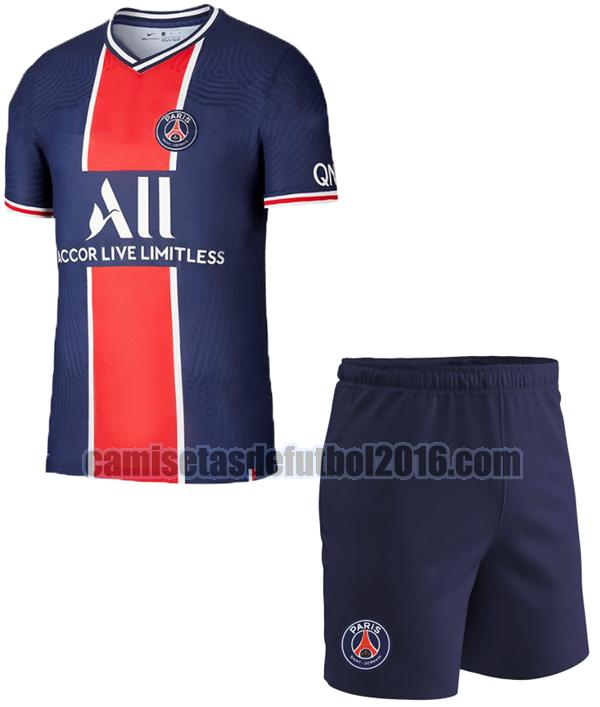 camiseta primera paris saint germain 2020-2021 niño