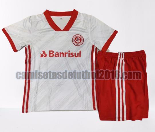 camiseta seconda sport club internacional 2020-2021 niño