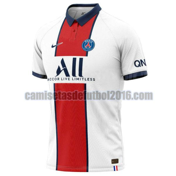 camiseta segunda equipacion paris saint germain 2020-2021