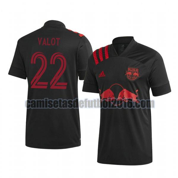 camiseta segunda new york red bull 2020-2021 florian valot 22