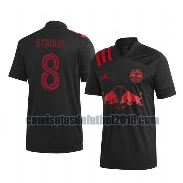 camiseta segunda new york red bull 2020-2021 jared stroud 8