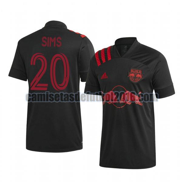 camiseta segunda new york red bull 2020-2021 josh sims 20