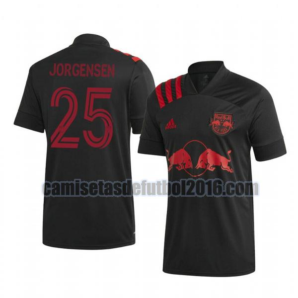 camiseta segunda new york red bull 2020-2021 mathias jorgensen 25