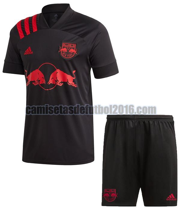 camiseta segunda new york red bull 2020-2021 niño
