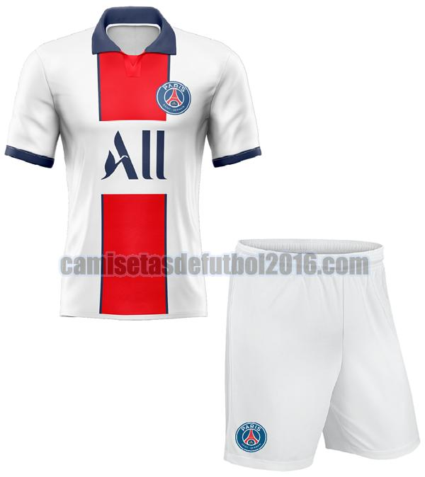 camiseta segunda paris saint germain 2020-2021 niño