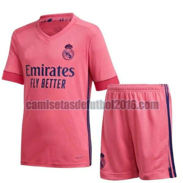 camiseta segunda real madrid 2020-2021 niño
