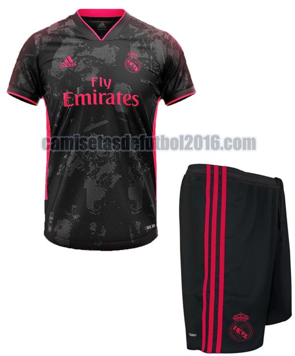 camiseta tercera real madrid 2020-2021 niño