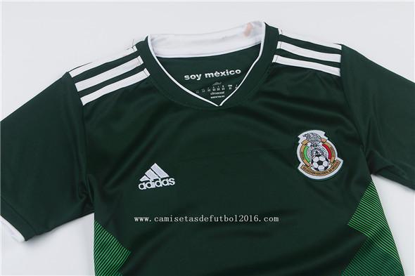 a7d37029ae69c ... camiseta primera equipacion nino Mexico 2018 ...