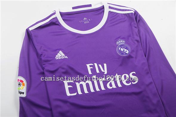 camiseta segunda equipacion del Real Madrid 2017 manga larga ... 99c668ce2bae3