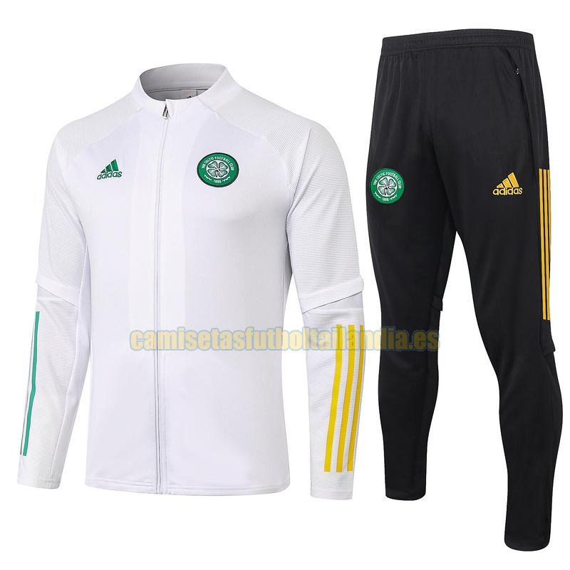 chandal celtic 2020-2021 blanco, blanca rebaja
