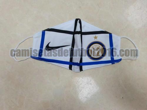 mascaras inter milan 2020-2021 blanco