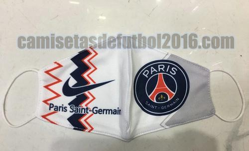 mascaras paris saint germain 2020-2021 blanco