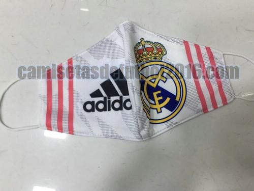 mascaras real madrid 2020-2021 blanco