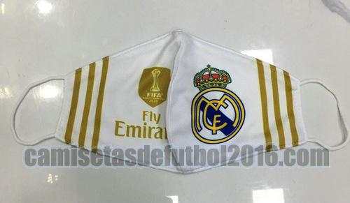 mascaras real madrid 2020-2021 oro blanco