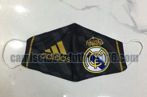 mascaras real madrid 2020-2021 oro negro